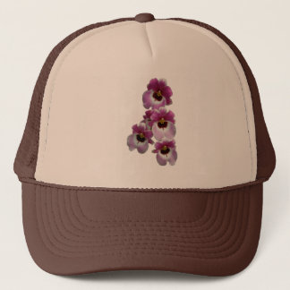 Trucker Hat - Pansy Orchid