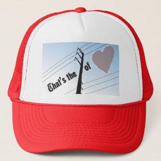 Trucker Hat POWER OF LOVE SILOUETTE