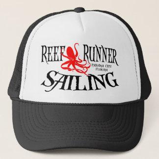Trucker Hat - Reef Runner Sailing Octopus