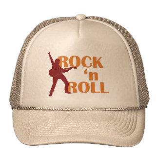 trucker hat - rock Roll (music design)