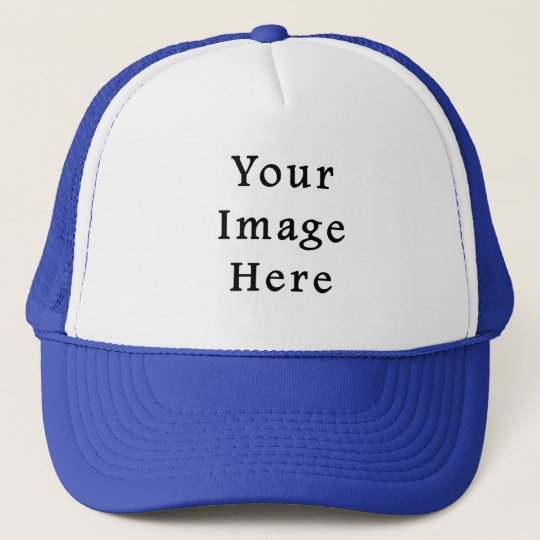 Trucker Hat Royal Blue   White Baseball Cap  3388d0376a9
