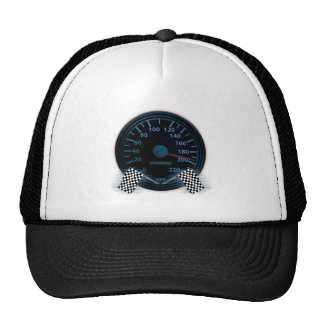 Trucker Hat SPEEDOMETER FINISH FLAG