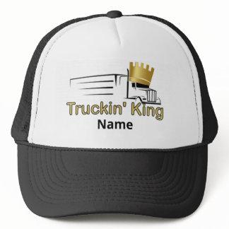 "Trucker Hat - ""Truckin' King"" Conventional Semi"