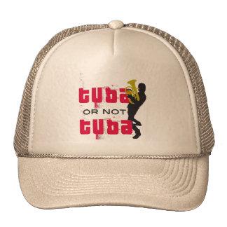 trucker hat - TUBA or not TUBA