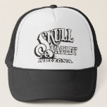 """Trucker Hat w/ Skull Valley, Arizona Logo<br><div class=""""desc"""">Trucker Hat with authorized Skull Valley,  Arizona logo.  Available in other colors.</div>"""