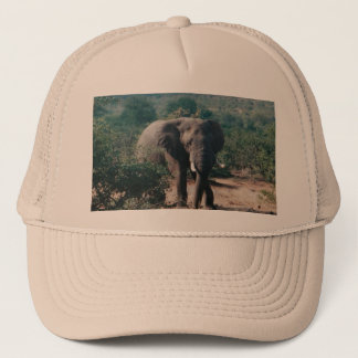Trucker Hat with image of Elephant