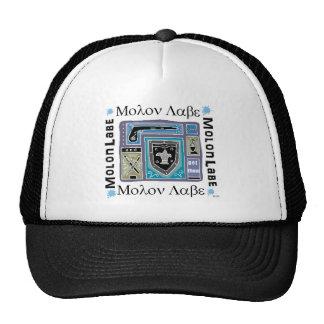 Trucker Hat with Molon Labe Logo