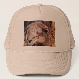 Trucker Hat with Smirking Camel Face