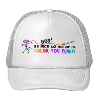 Trucker Hats - Color You Funny