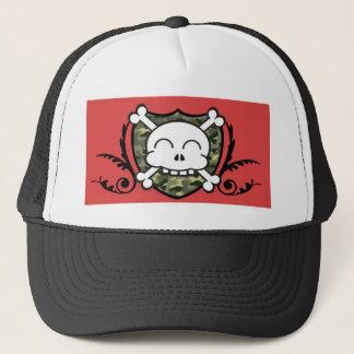 trucker,hunter,pirate trucker hat