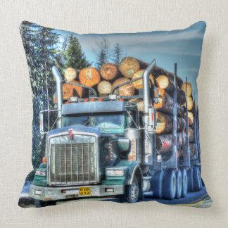Trucker Logging Truck Lorry Heavy Transport Gift5 Pillows