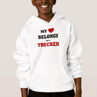 Trucker Love Hoodie