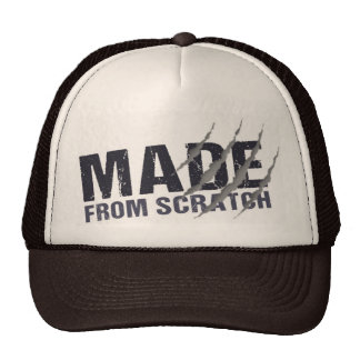 Trucker made from scratch trucker hat