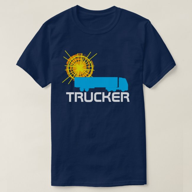Trucker one-of-a-kind beautiful customizable