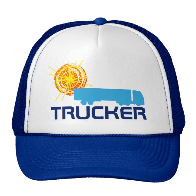 Trucker one-of-a-kind beautiful customizable
