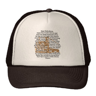 Trucker Prayer Hat