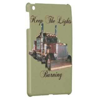 Trucker s Keep The Lights Burning Cover For iPad Mini