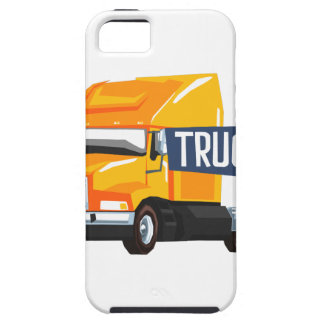 Trucker Standing Next To Heavy Yellow Long-Distanc iPhone SE/5/5s Case