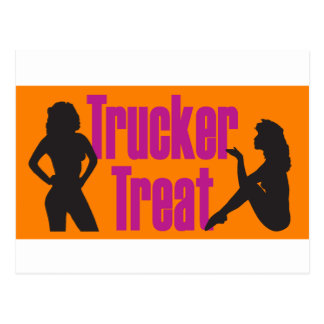 Trucker Treat Postcard