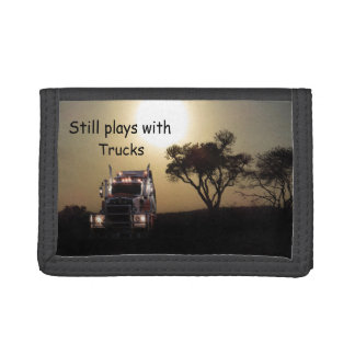 Trucker Tri-fold Wallets