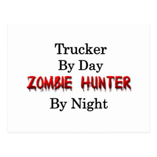 Trucker/Zombie Hunter Postcard