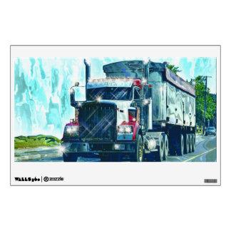 Truckers Big Rig Cargo Truck Window Decal