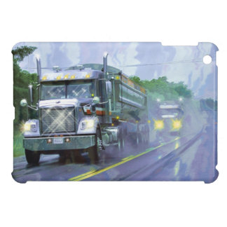 Truckers Big Rig Heavy Transport Gift iPad Mini Cases