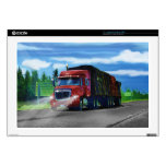 Truckers Big Rig Heavy Transport Gift Laptop Decals