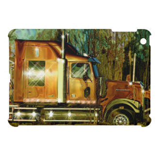 Truckers Big Rig Heavy Transport iPad Case