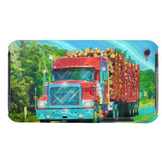 Truckers Big Rig Heavy Transport Phone Case iPod Touch Cover