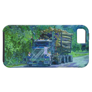 Truckers Big Rig Logging Truck iPhone 5 Case