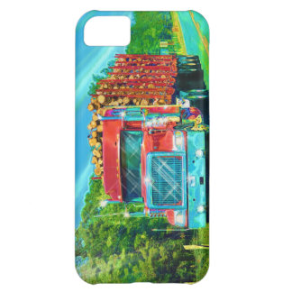 Truckers Big Rig Logging Truck Phone Case
