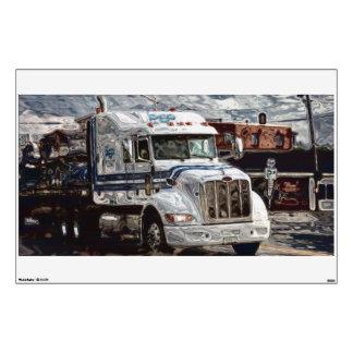 Truckers Big Rig Supply Truck Window Decal