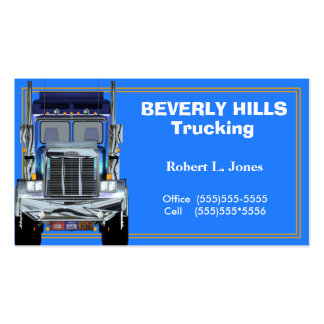 Truckers Business Card