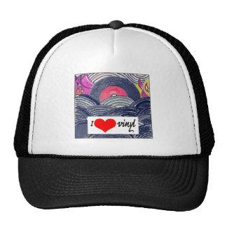 Trucker's Cap - I Love Vinyl