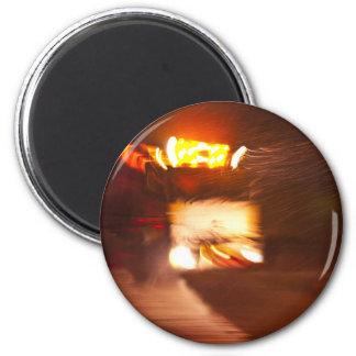 Truckers fridge magnet