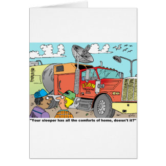 TRUCKERS' GIFT ITEMS CARD