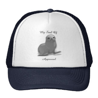 Truckers Hat/Cap-My Seal Of Approval