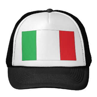 Truckers Hat With Italian Flag