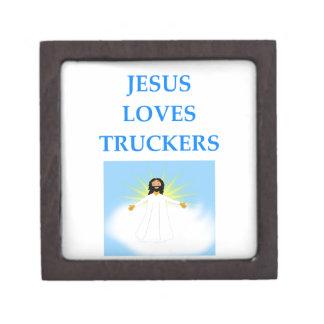TRUCKERS JEWELRY BOX