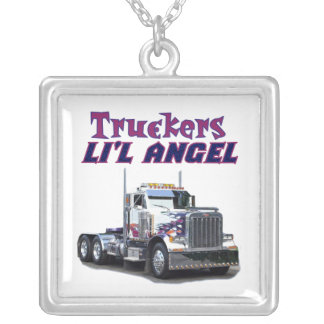 Trucker's L'il Angel Necklace