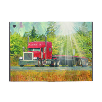 Truckers Lorry Driver Big Rig Heavy Transport Covers For iPad Mini