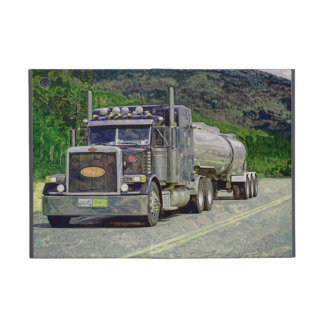 Truckers Lorry Driver Fuel Tanker Truck Case Cases For iPad Mini
