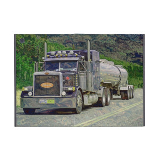 Truckers Lorry Driver Fuel Tanker Truck Case Cover For iPad Mini