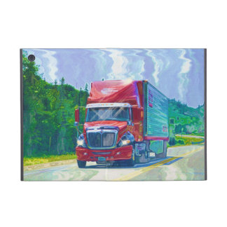 Truckers Lorry Driver Heavy Transport Cases For iPad Mini