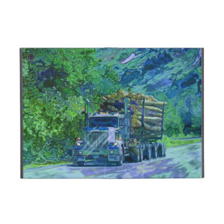 Truckers Lorry Driver Logging Truck iPad Case
