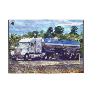 Truckers Lorry Driver Petrol Tanker Truck Case iPad Mini Cover
