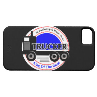 Truckers Novelty King Of The Road Graphic iPhone SE/5/5s Case