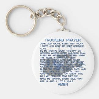 Trucker's Prayer Keychain