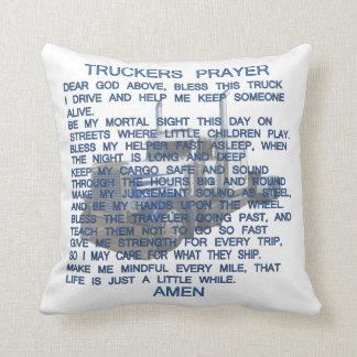 Trucker's Prayer Pillow